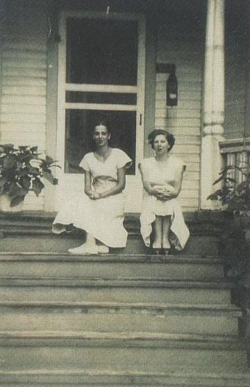 Aunt Joyce and Aunt Karen