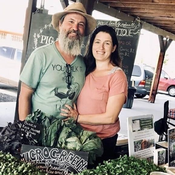 Organic produce from Pig & Leaf