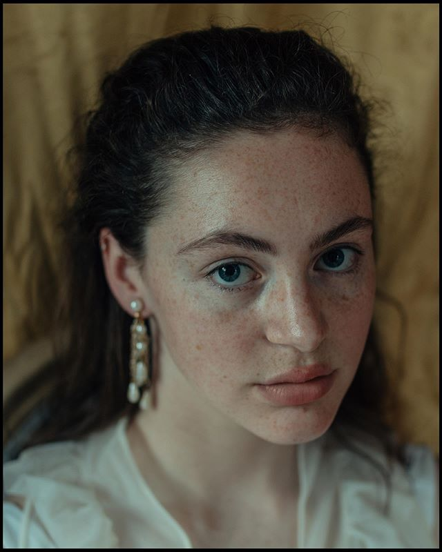 Girl with a pearl earring || impromptu photo shoots with @ryekoch