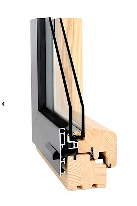 Integral - Um ein ganz besonderes und sehr modernes Fenster handelt es sich beim System Integral. Das auffälligste Merkmal dieses Systems sind die sehr grossen Glasflächen. Im eingebauten Zustand kann das Rahmenprofil komplett hinter dem Maueranschlag bzw. hinter dem Vollwärmeschutz-System verschwinden. Von der Aussenseite sichtbar ist somit nur noch Glas.