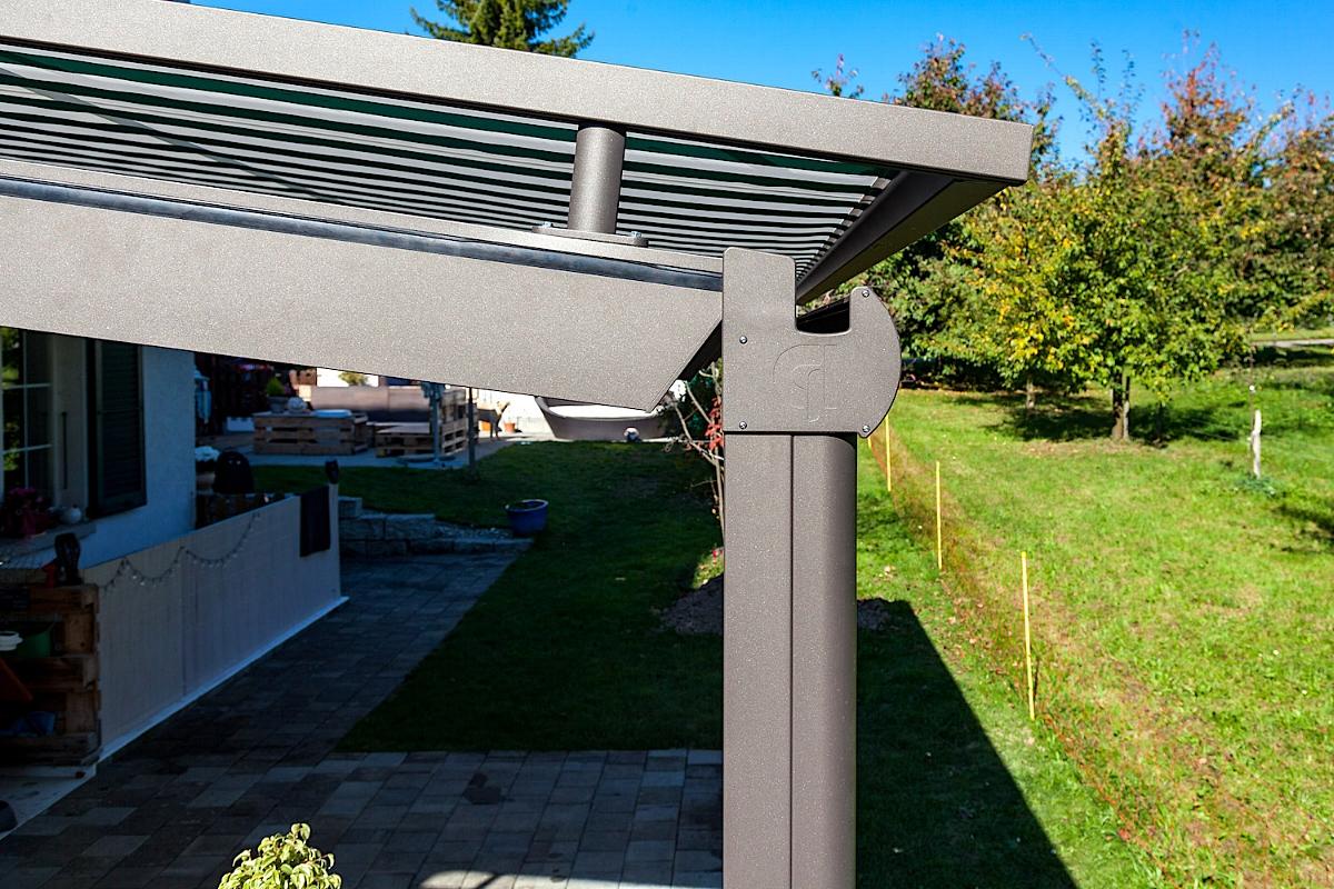 Terrassenüberdachung Sitzplatzüberdachung Epsach Schweiz