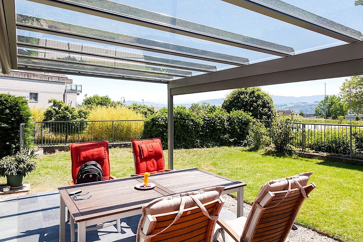 Terrassenüberdachung Sitzplatzüberdachung Meilen Schweiz