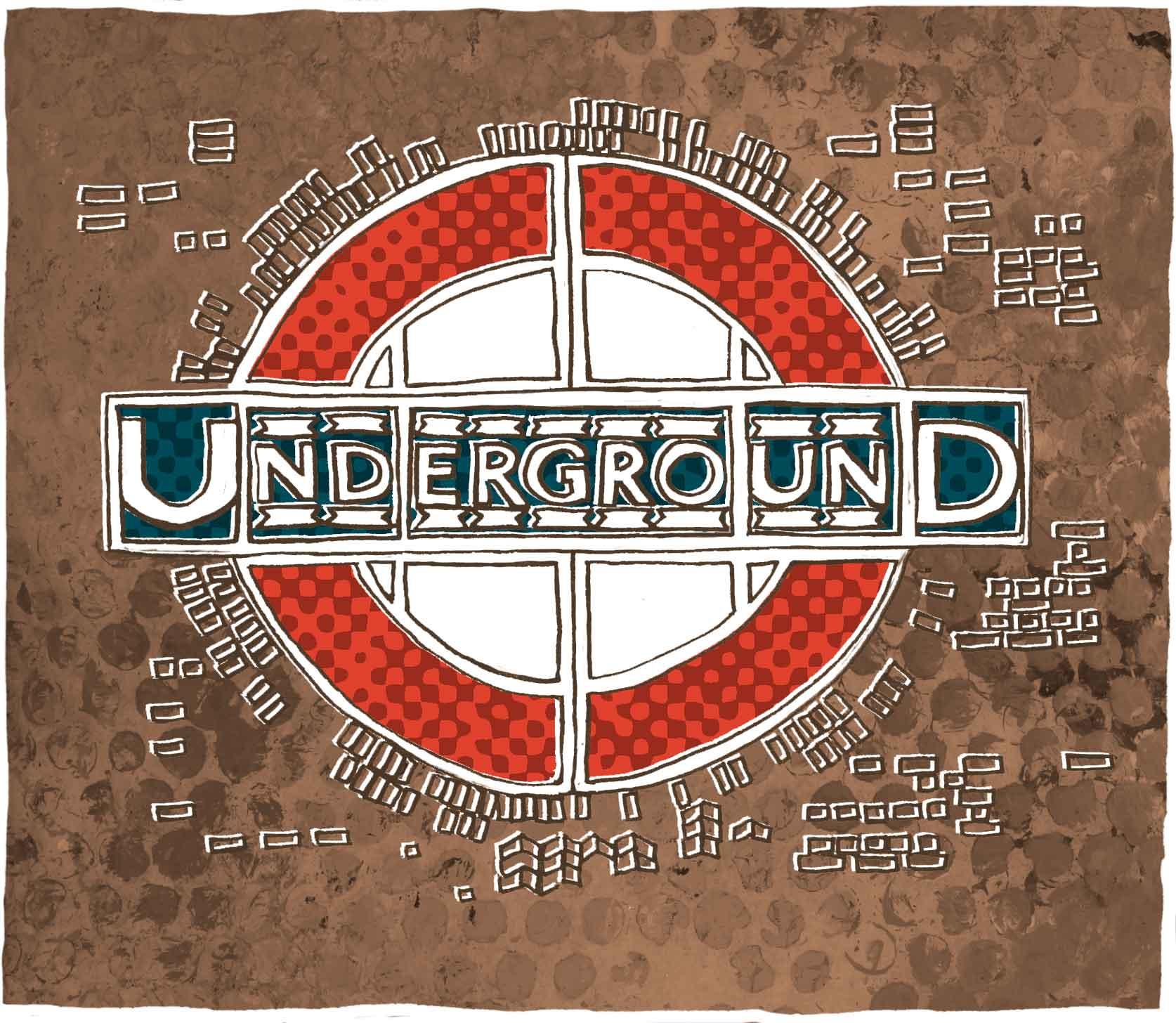 London Transport logo, inspired by Samuel's Mark