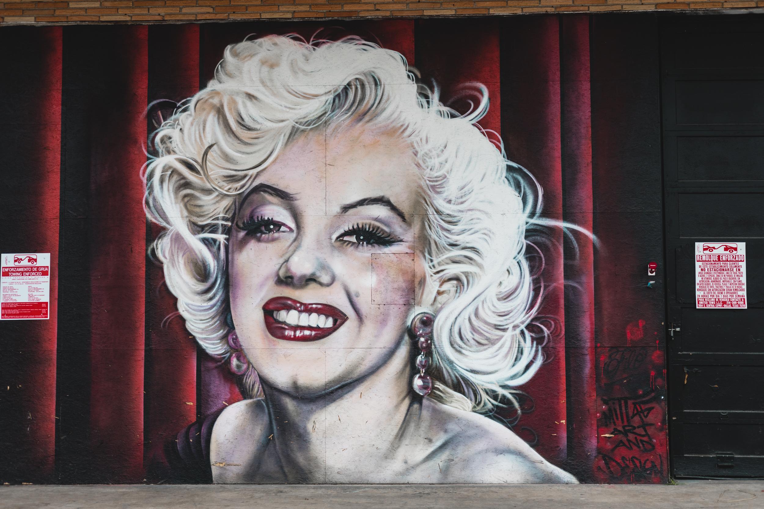 Marilyn Monroe Mural