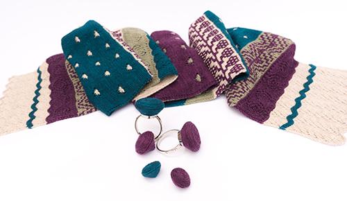 Frida Scarf, knitting pattern
