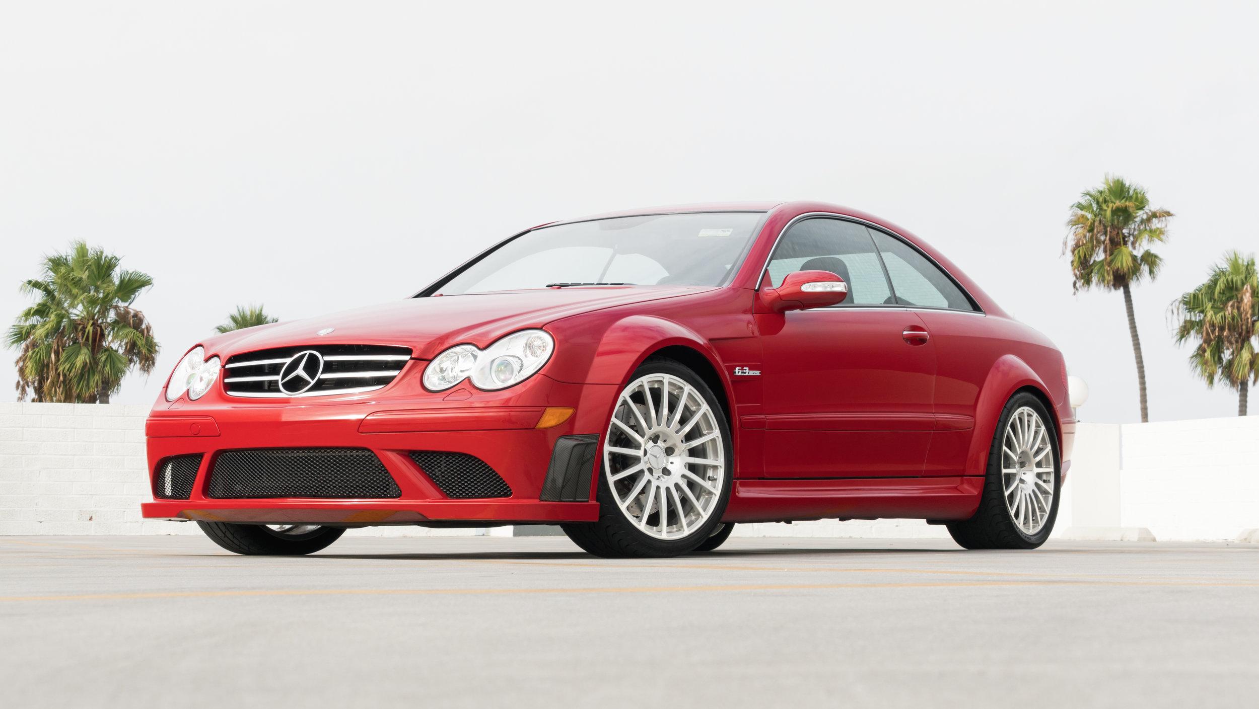 2008 Mercedes Benz CLK63 Black Series Mars Red