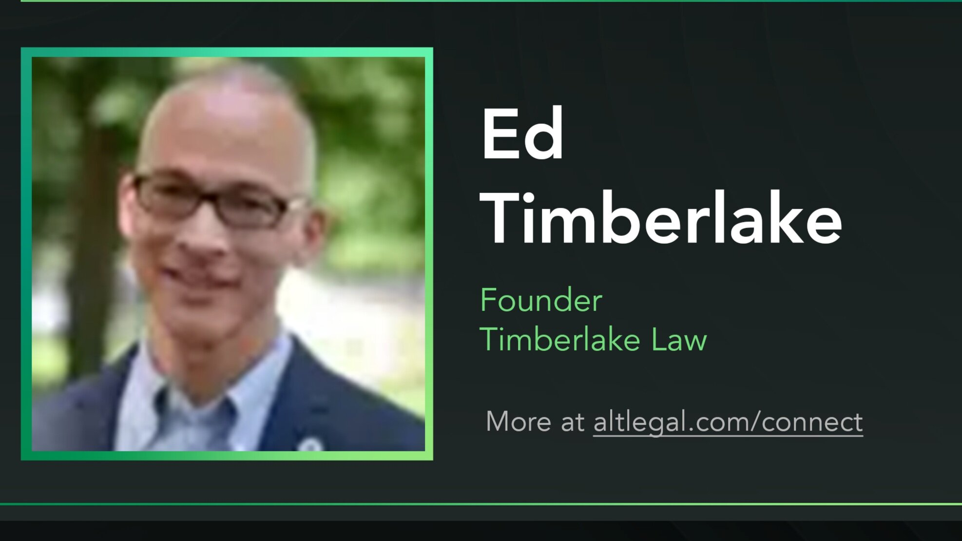 """Alt Legal Connect Session Summary:  """"Everything You Always Wanted to Know About Nontraditional Trademarks (But Were Afraid to Ask)"""""""