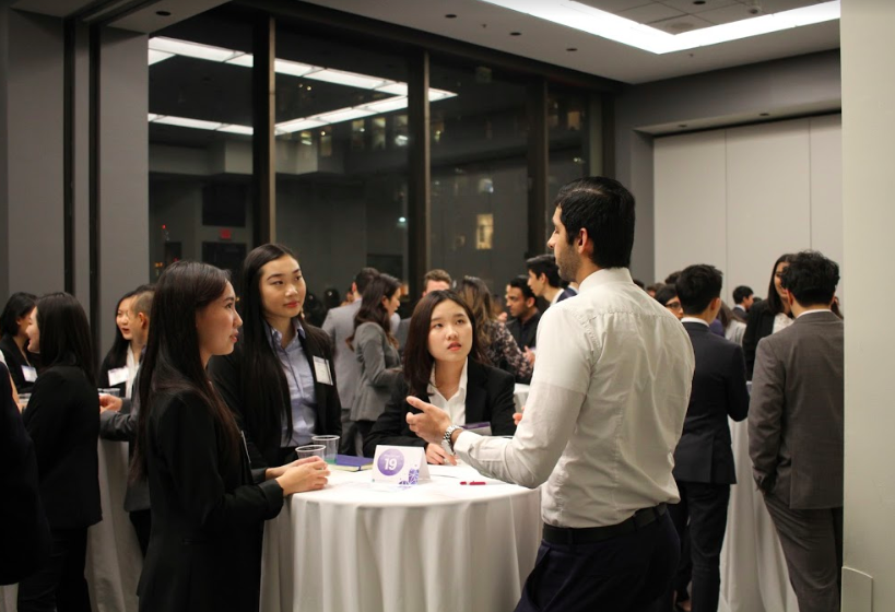 "Pitch-Off  A capstone event where mentees have the opportunity to practice and perfect an elevator pitch for themselves, and is often the first ""formal networking"" event for most mentees. They will receive useful feedback from industry professionals in a safe space."