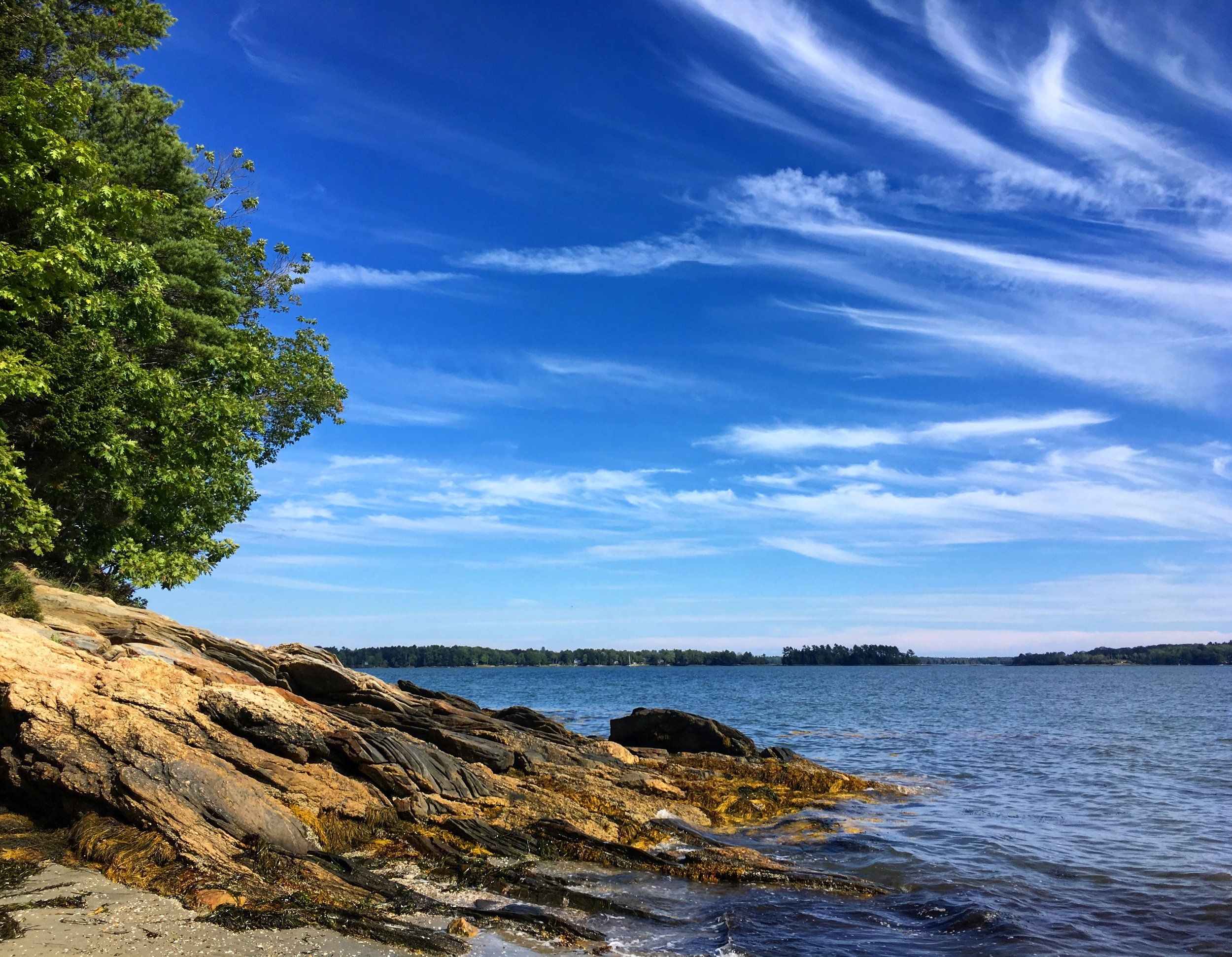 Maine in the summer.