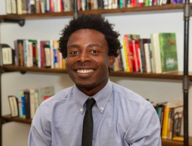 Emmanuel Blankson,Mathematics - Emmanuel was born in Obuasi, Ghana and raised in the Bronx, NY. He holds a B.A in Sociology and Mathematics from Dartmouth College and is currently getting his M.A in Math Education from Teacher's College at Columbia University. Emmanuel is interested in the educational outcomes of students of color (especially Black and Latinx students) and their math achievement. He hopes to cultivate an environment that encourage students to see how interesting and creative math learning can be in their lives.