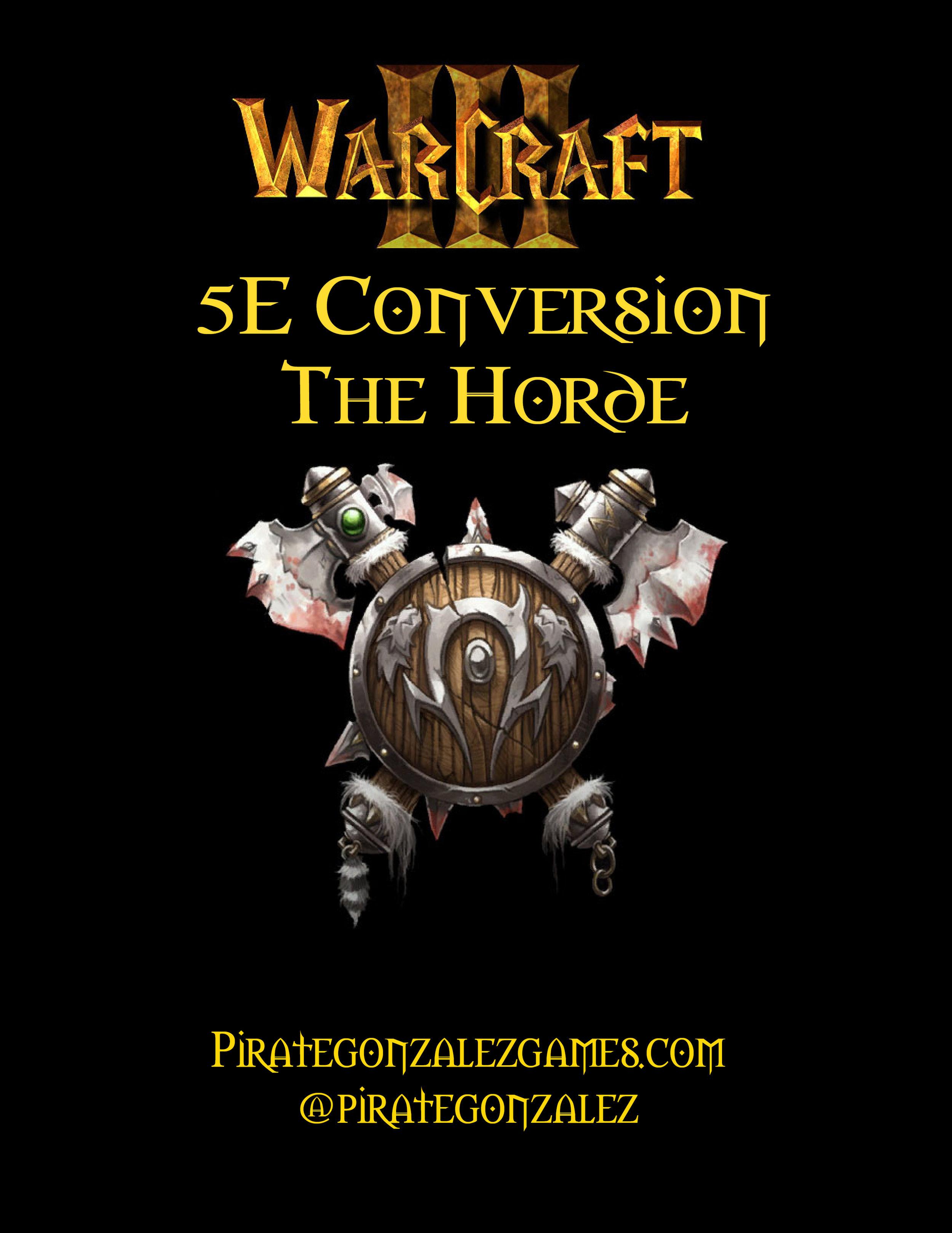 Warcraft III: Horde
