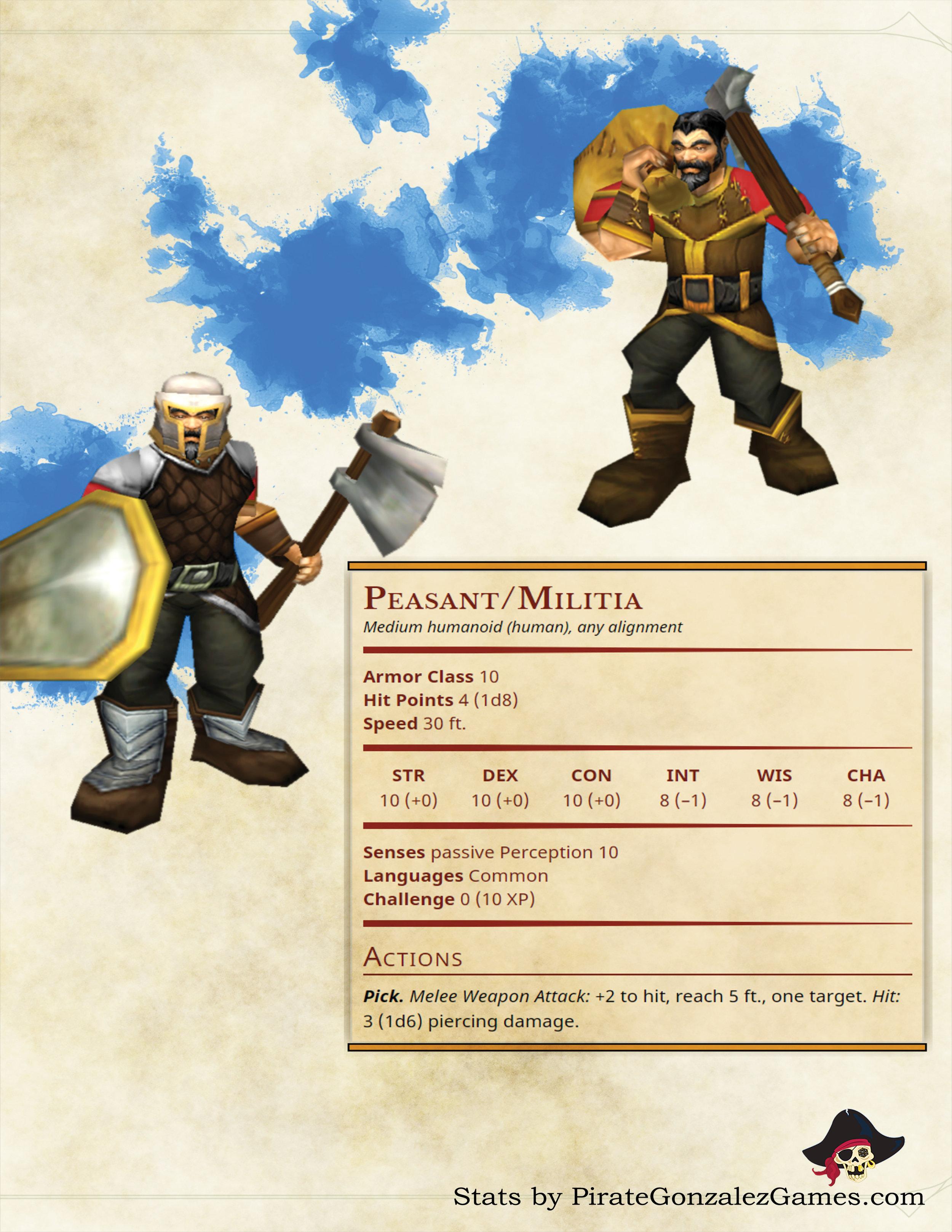 Peasant and Militia