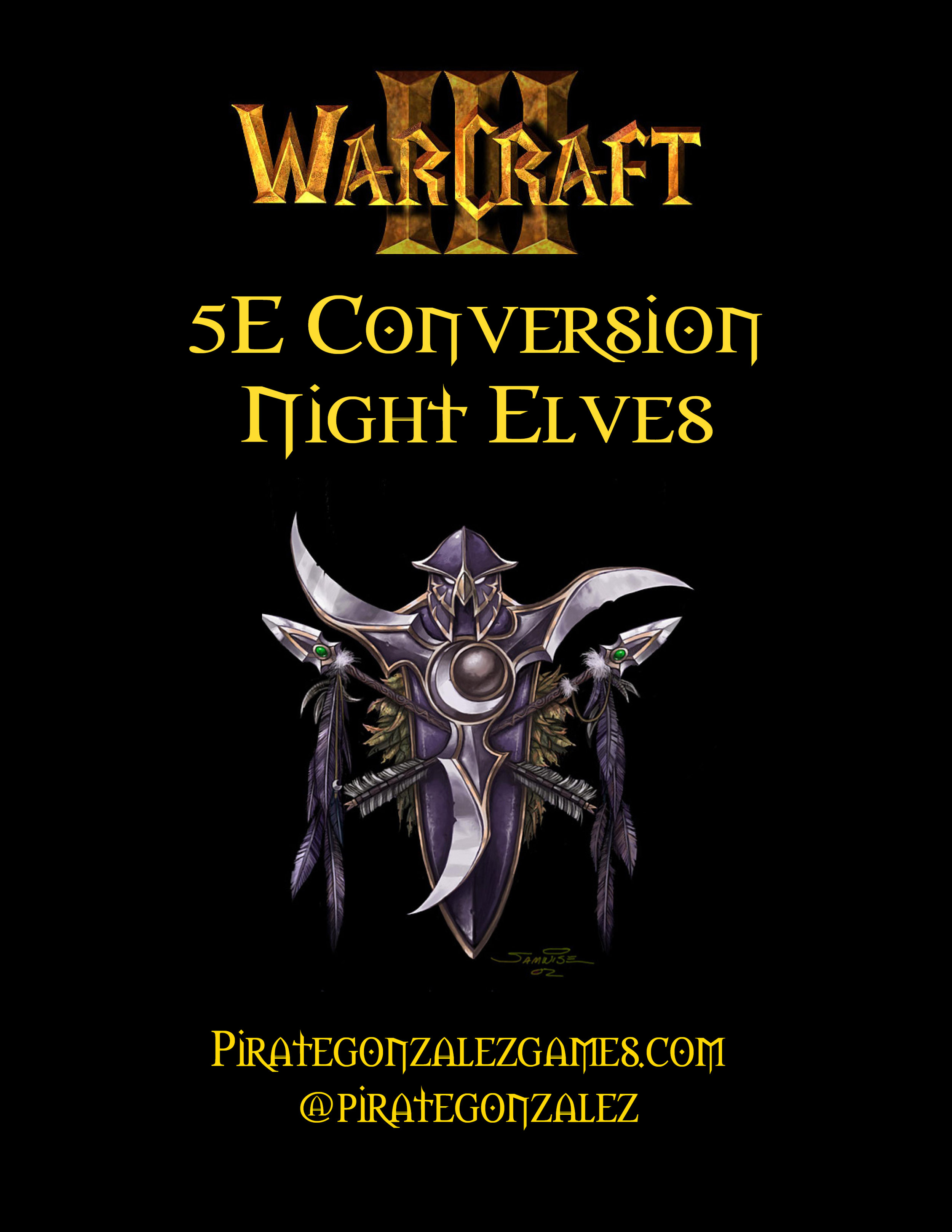 Warcraft III: Night Elves