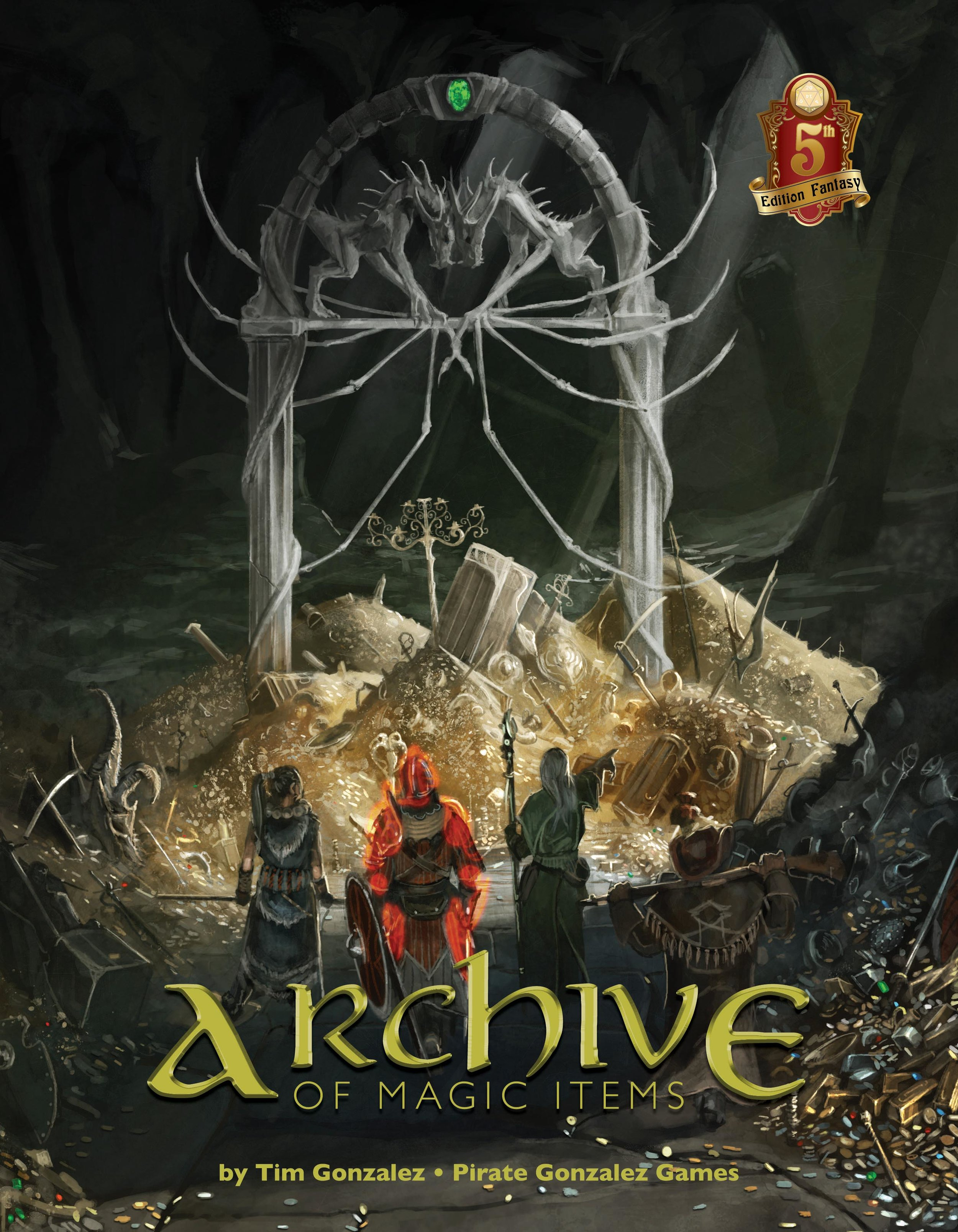 Kickstarter is Live: The Archive of Magic Items! — Pirate