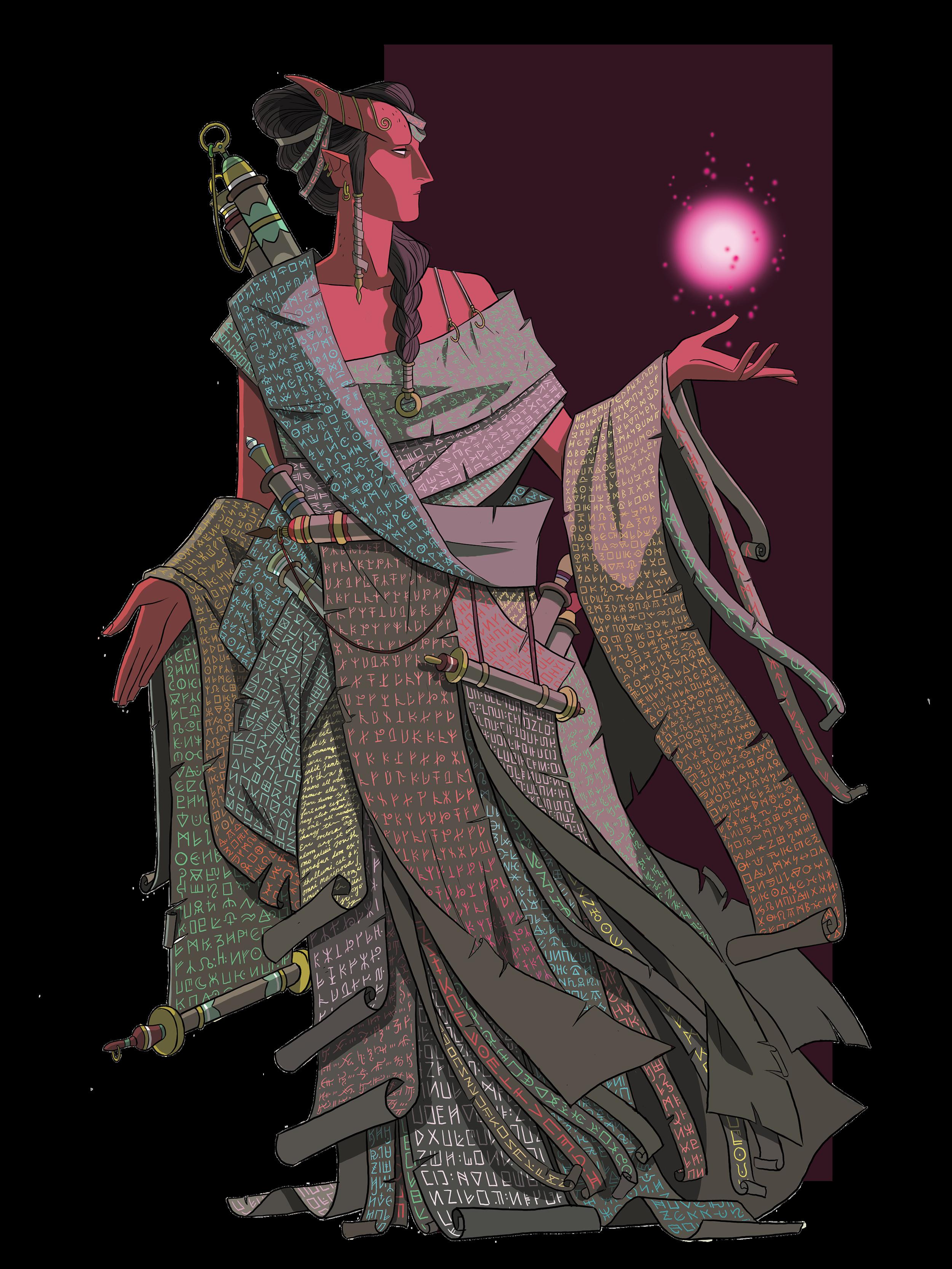 Scroll Armor by Venus Jaw