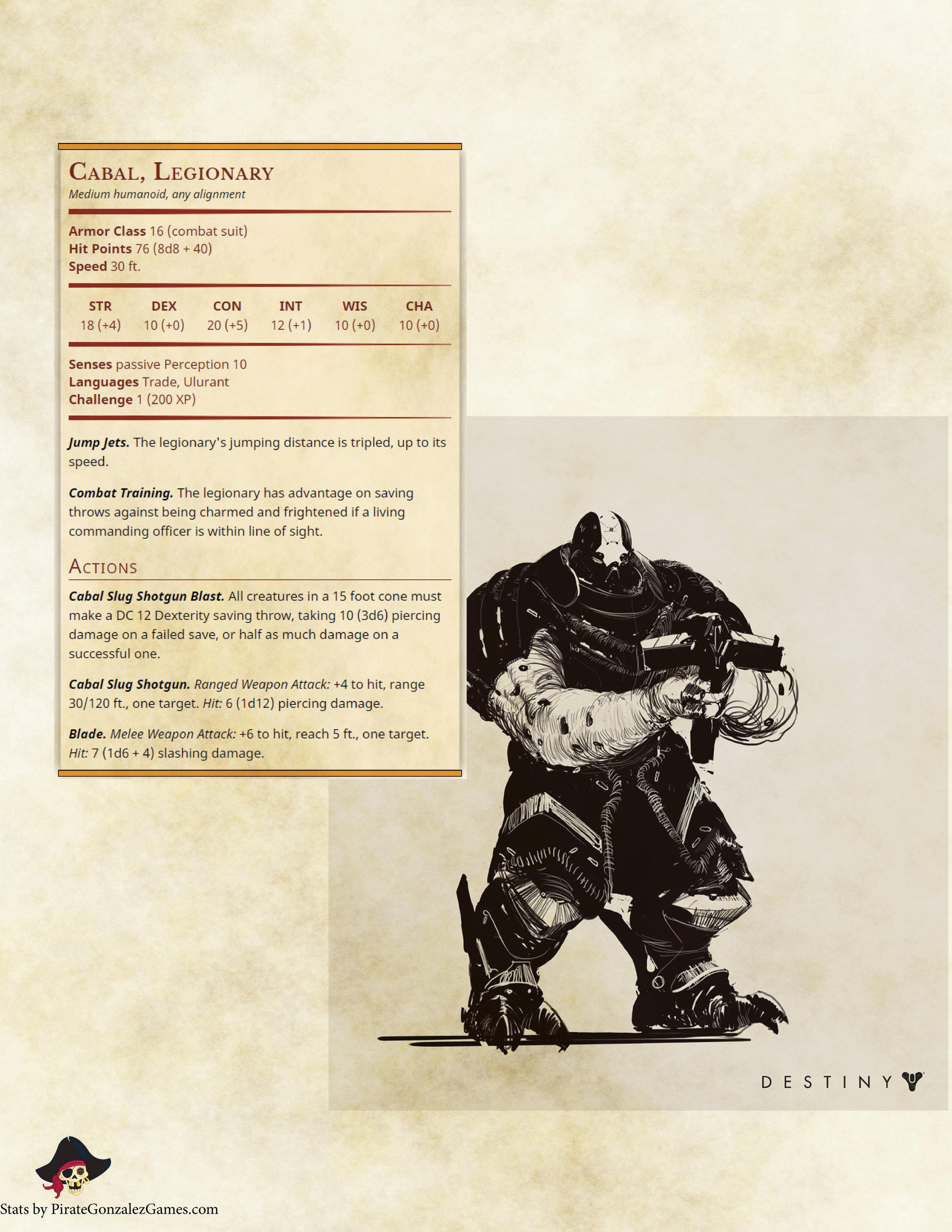 Cabal Legionary