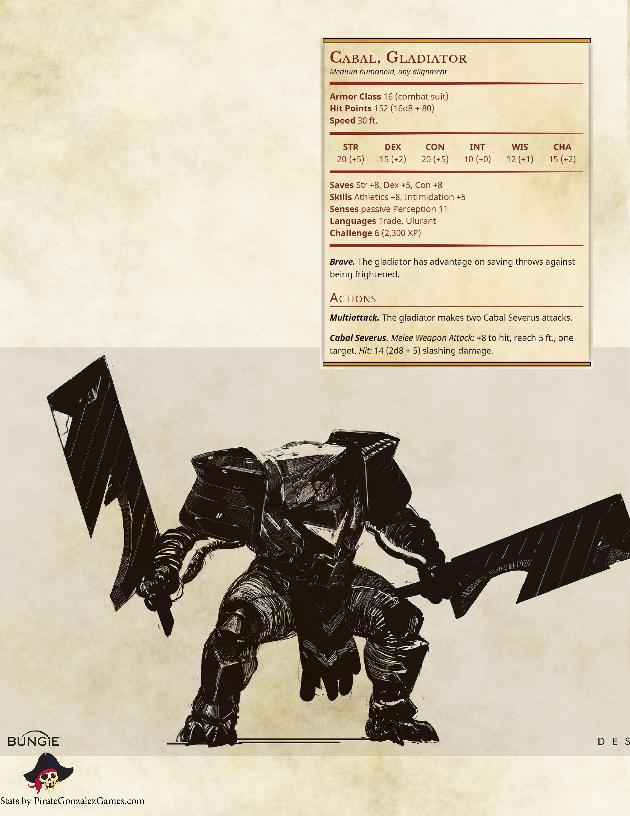 Cabal Gladiator
