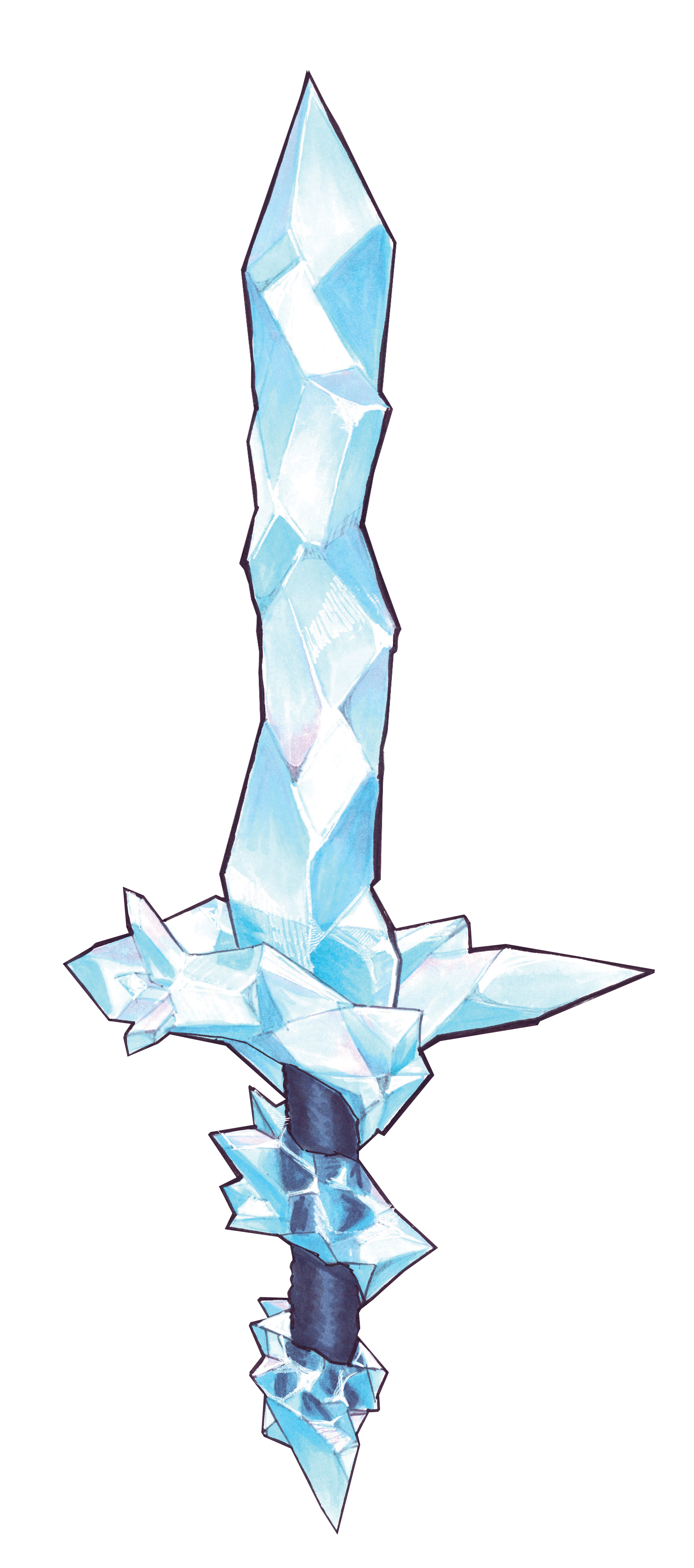 The Frozen Blade of Glacien