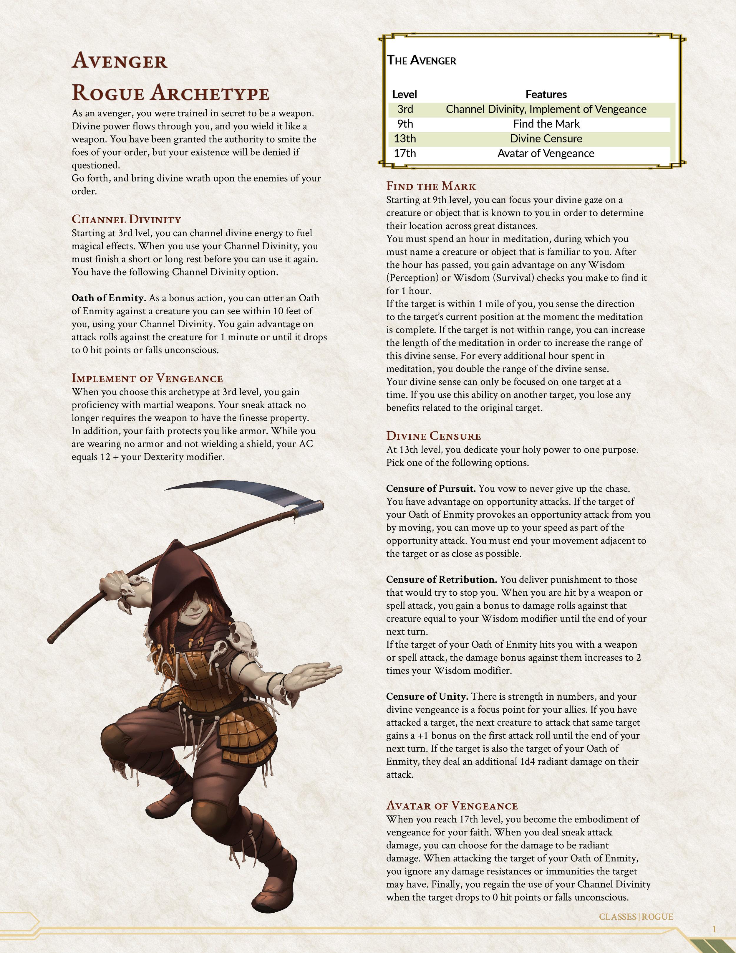 Rogue Avenger Archetype cover2.jpg