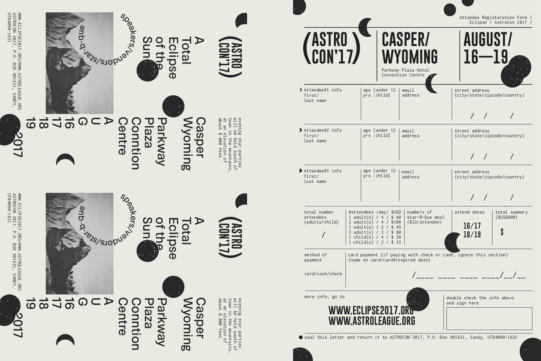 ASTROCON'17,  art direction, rebranding, layout system, programming, digital experience
