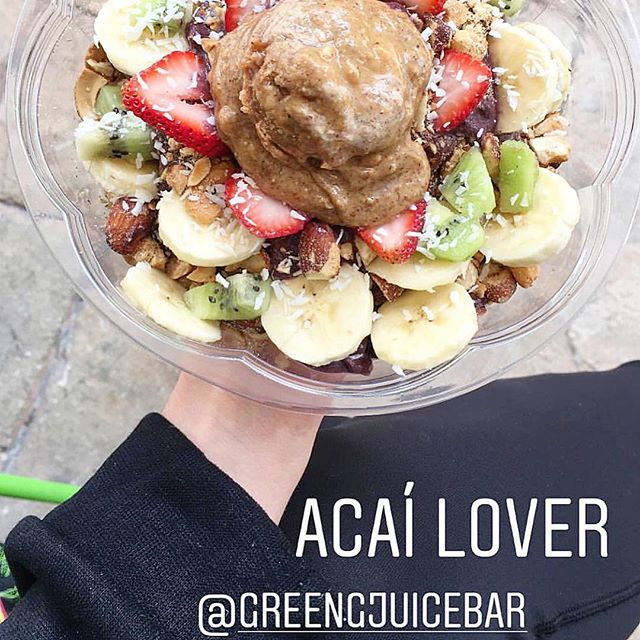 Green-G knockout bowl has all acai lovers drooling😍 Thank you  @wanadiramirez for this knockout shot 📸