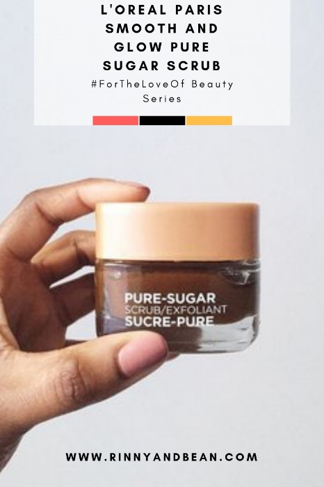 Beauty | Beauty tips | Face mask | Skincare | Beauty Review: L'Oreal Paris Smooth & Glow Pure-Sugar Scrub.png