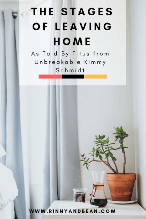The Stages of Leaving Home as told by Titus from Unbreakable Kimmy Schmidt | Netflix Shows | Apartment Hunting