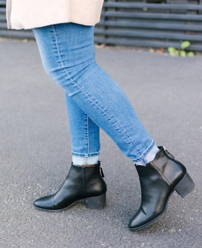 Cozy Fall Fashion Inspiration   Wool Coat   Crossbody Purse   Outfit Inspiration   Fall Booties