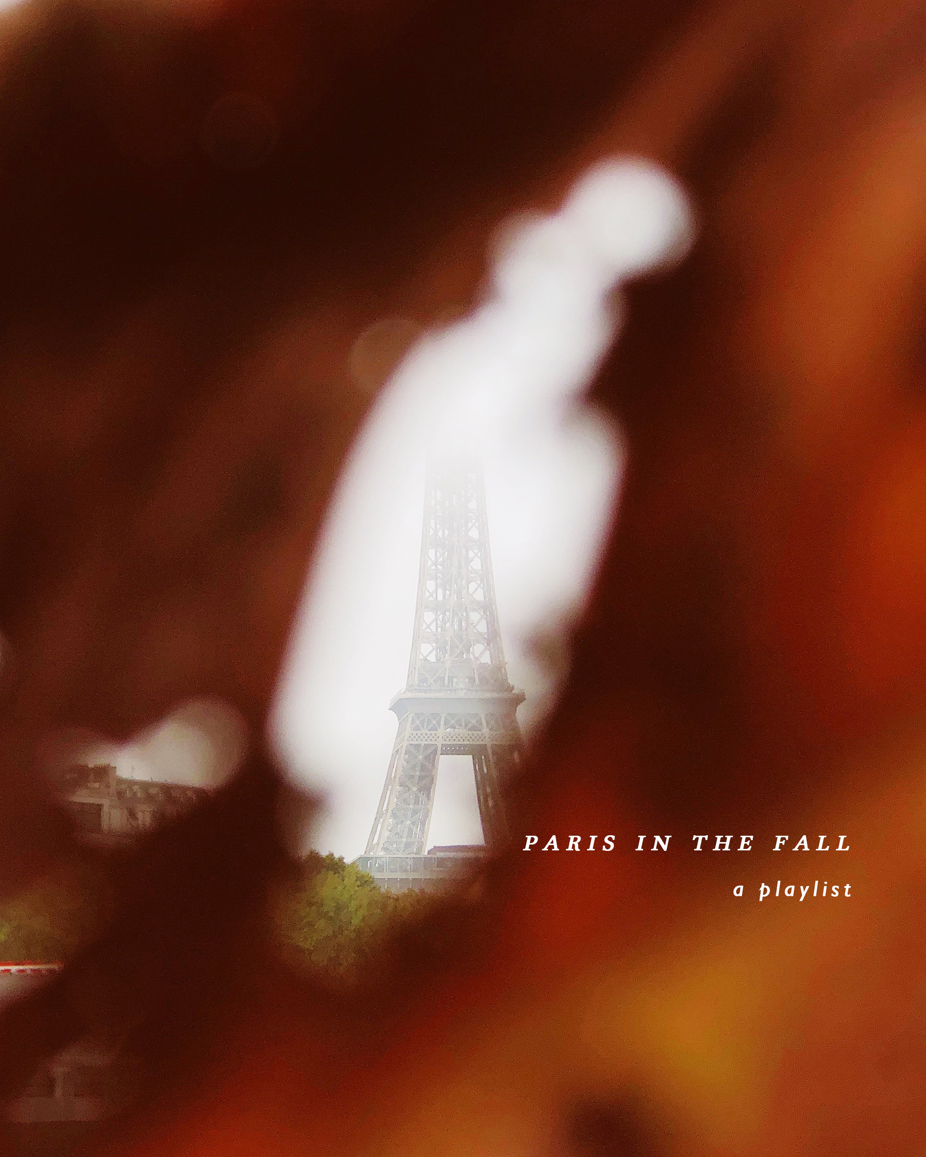 paris in the fall, a playlist