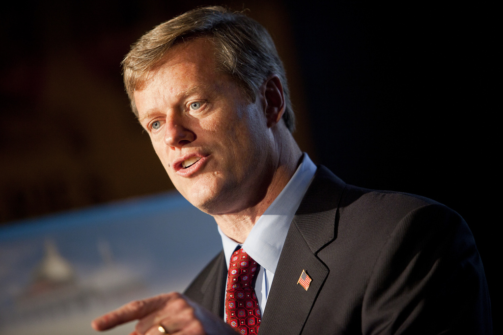 Massachusetts Governor Charlie Baker (Flickr)