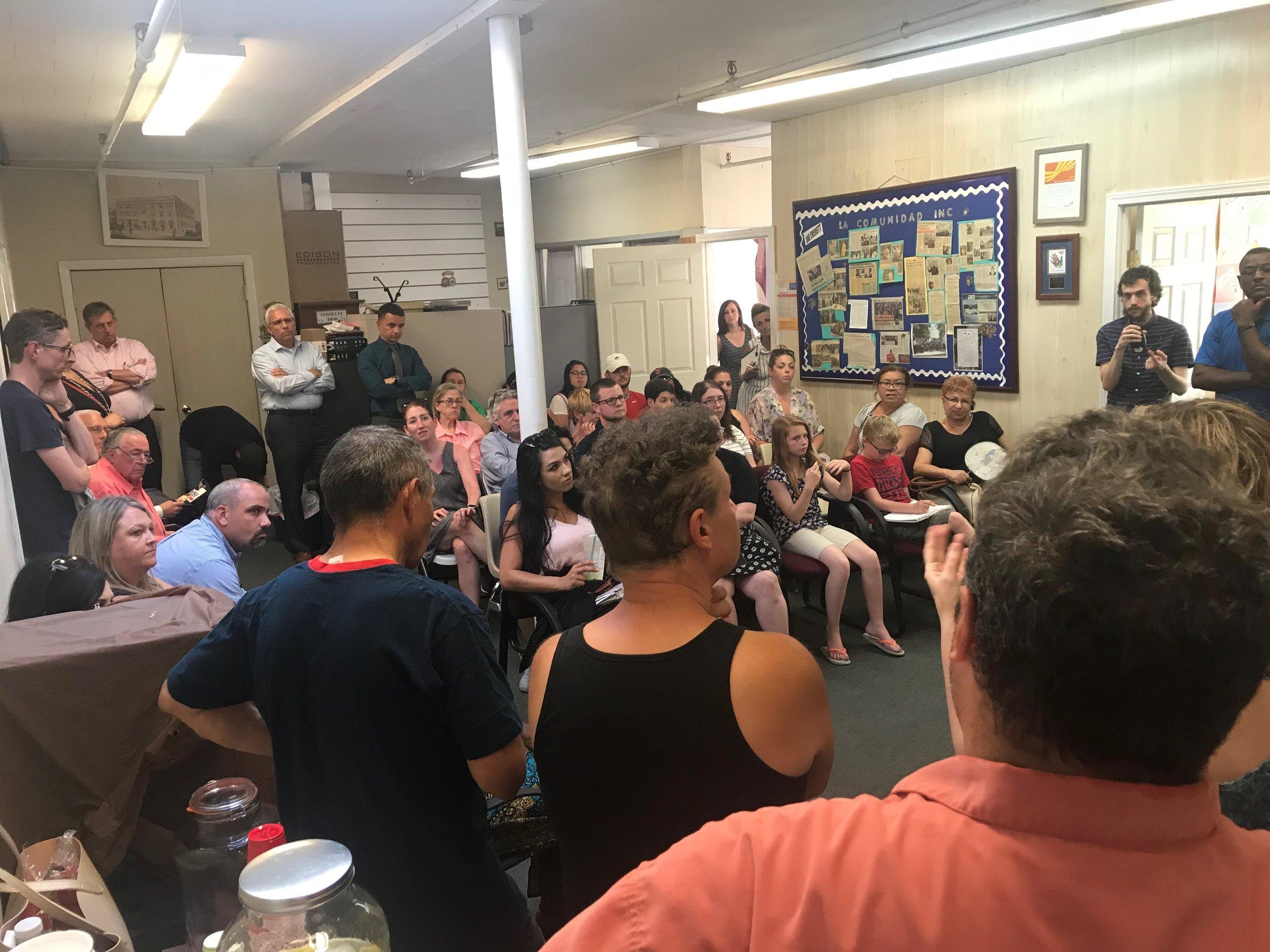 Everett Education Coalition members at a recent meeting. (Yrma Fiestas/MEJA)