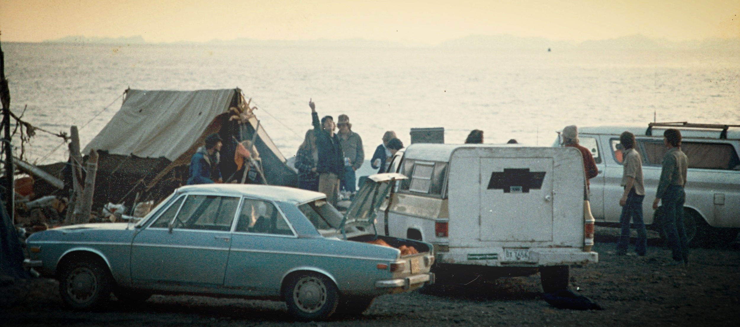 On the Homer Spit in 1982