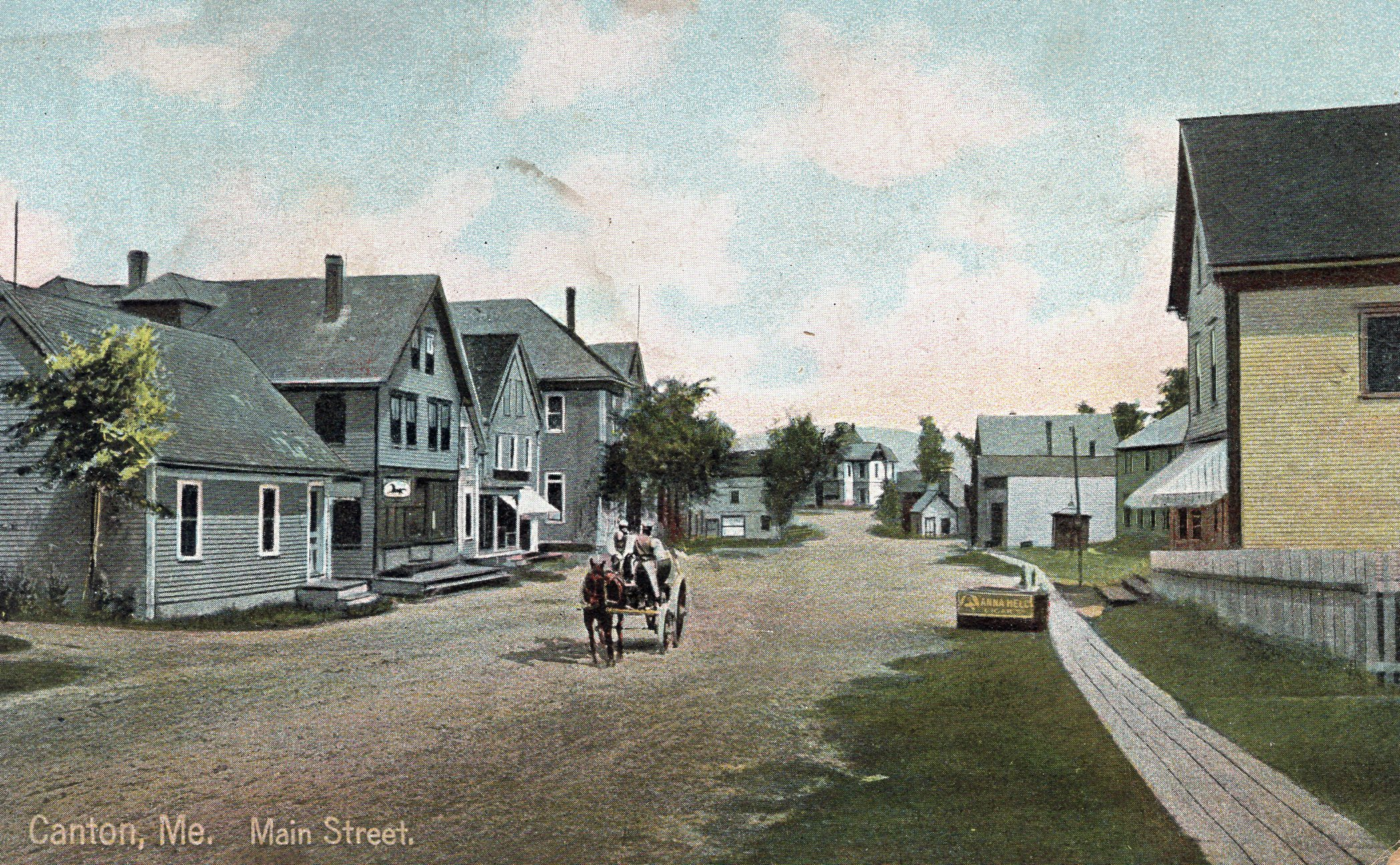 THEN: Main Street, Coming from the lake Circa . . .?