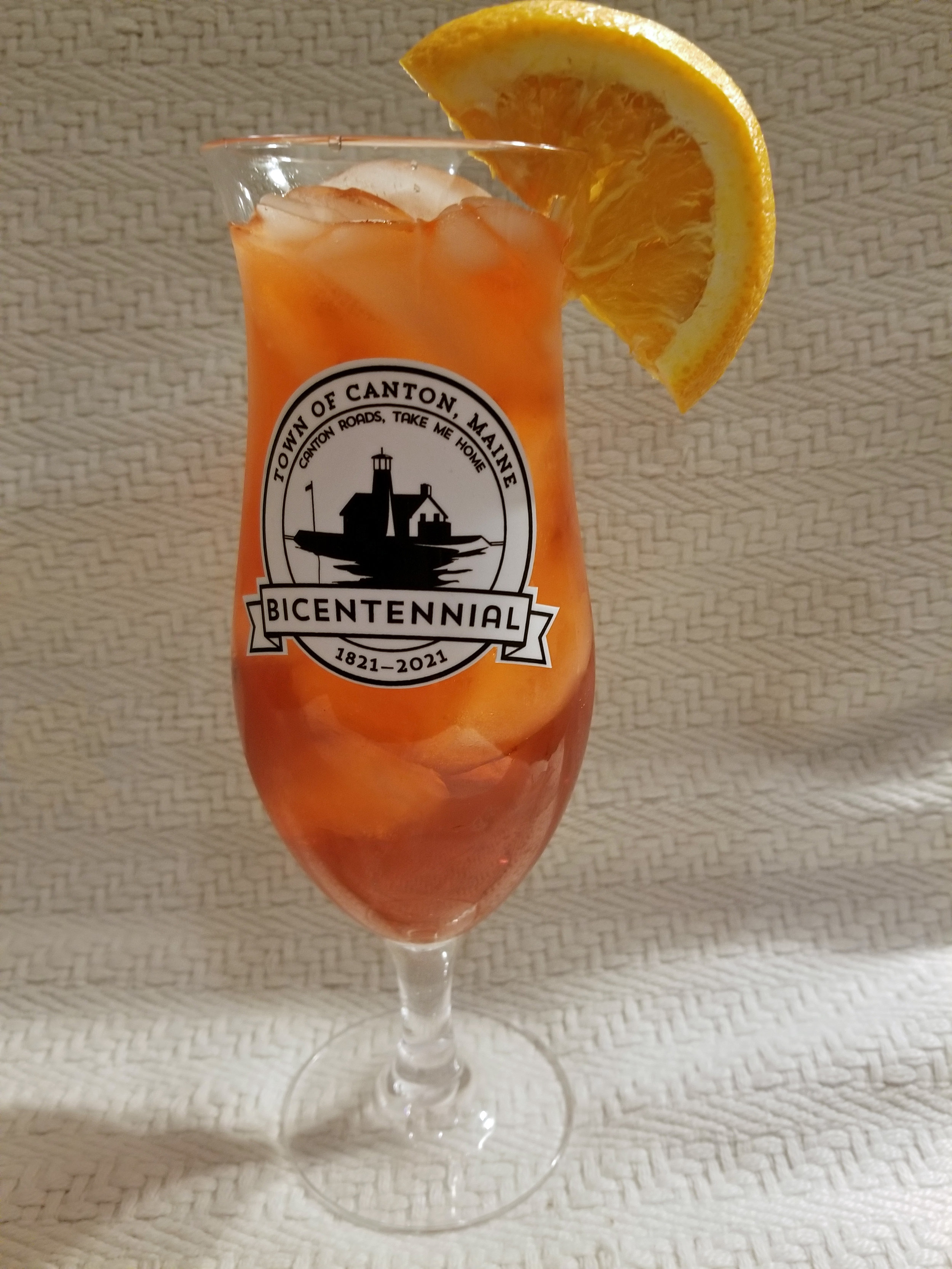Commemorative Glass $5.00 (beverage not included)