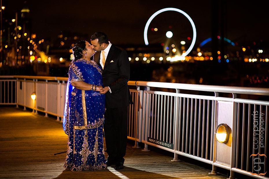 Seattle waterfront marriott wedding