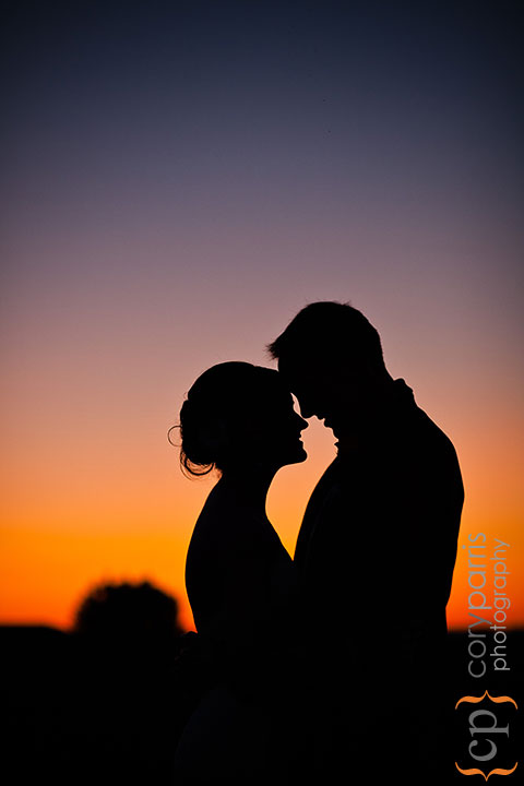 For this image, I set the exposure to highlight the sunset leaving no detail on the couple.