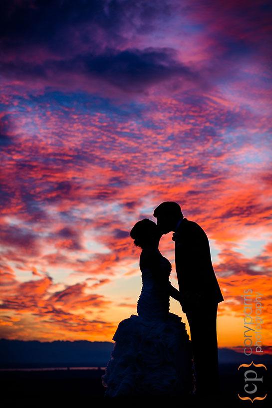 newcastle-golf-club-wedding-sunset