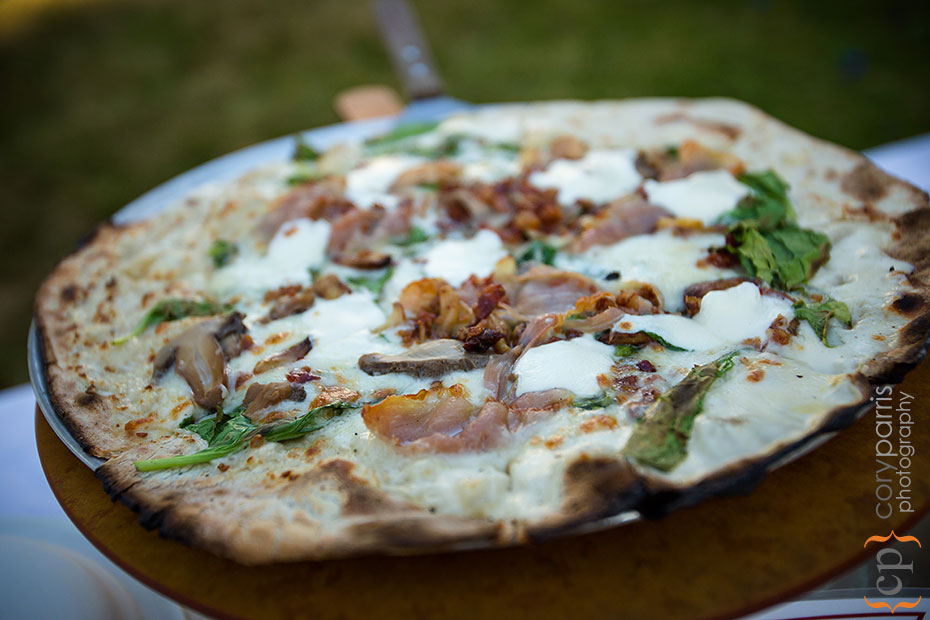 Pompeii Woodfire Pizza event catering