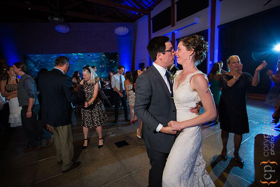 dancing at the seattle aqurium