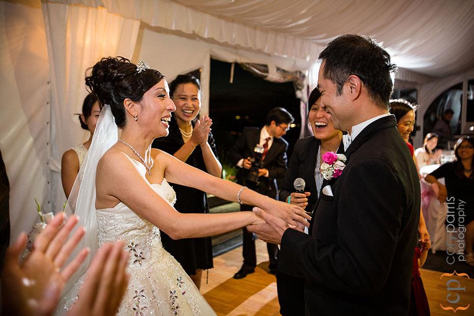 bride and groom wedding games