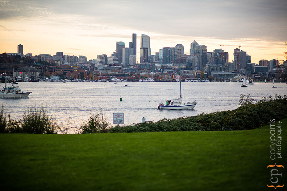 The view from Gas Works Park