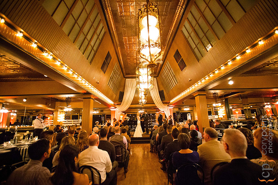 wedding at Lake Union Cafe