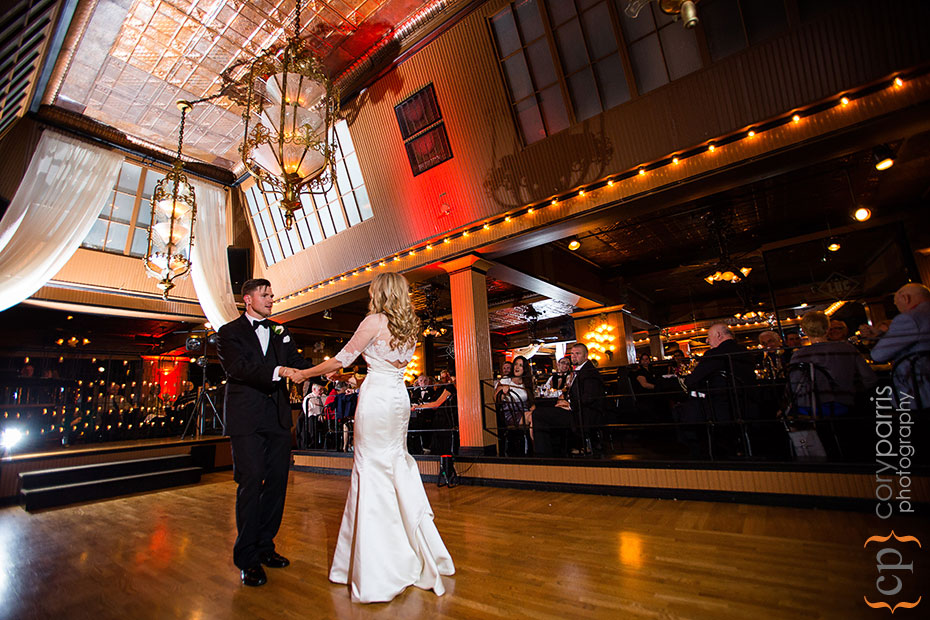 first dance at the lake union cafe