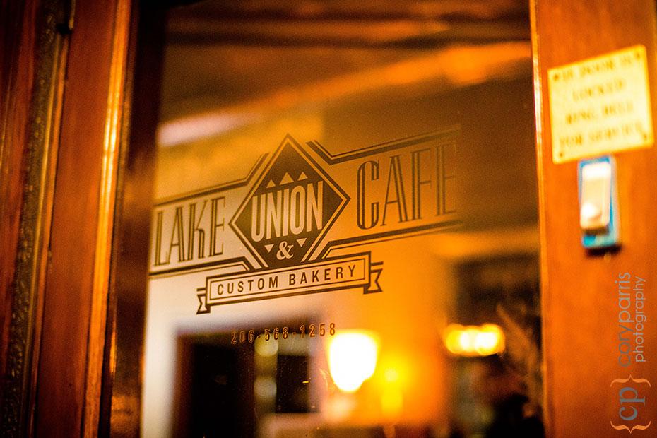 lake union cafe wedding venue