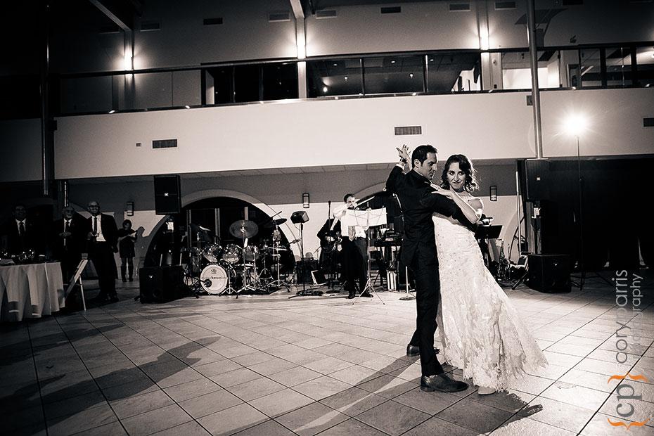 tango at Seattle Design Center wedding