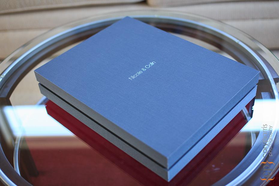 Custom Linen Album Box