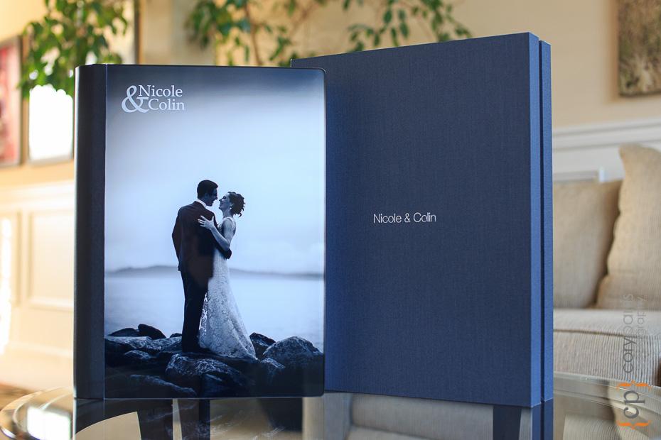 Wedding box and album