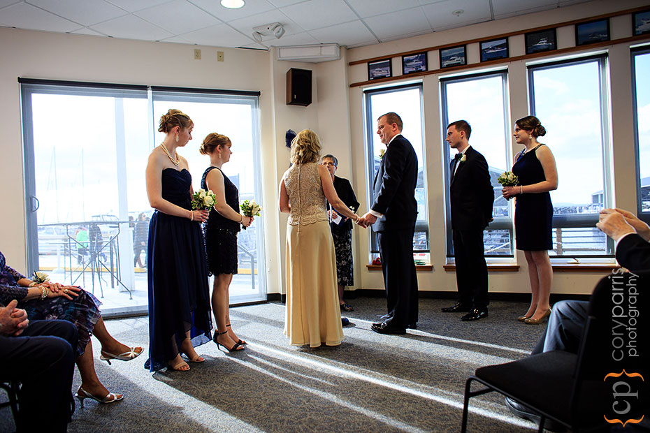Edmonds Yacht Club wedding