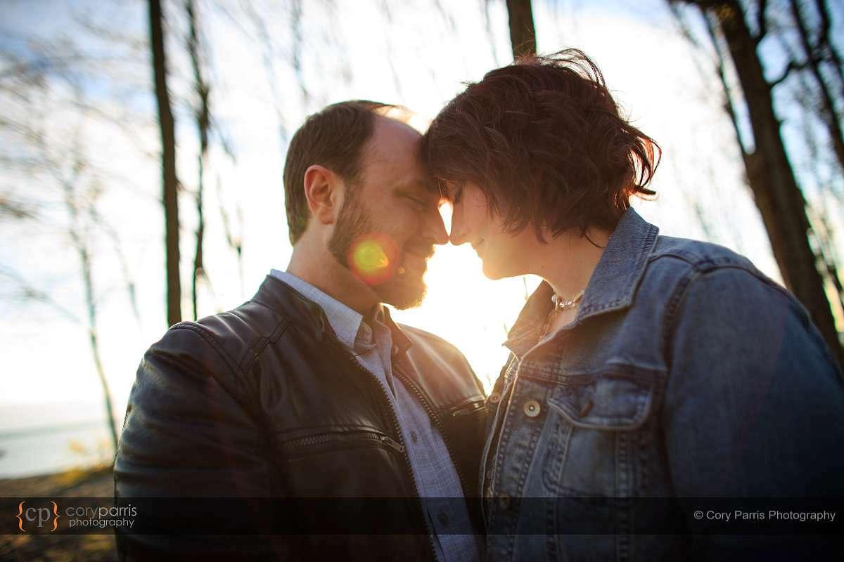 Seattle engagement portrait