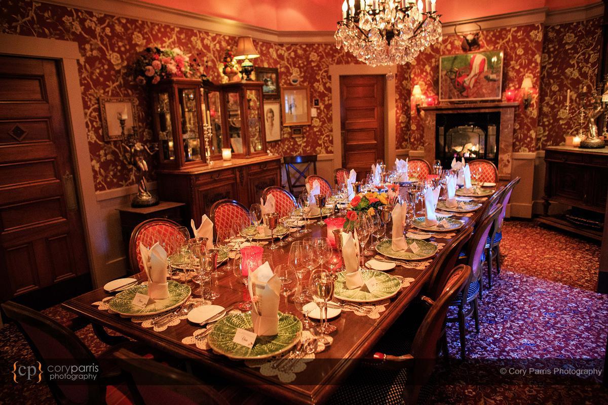 The Herb Farm wedding reception